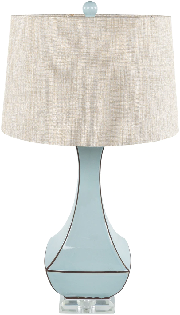 Bell Haven Pale Blue Table Lamp In 2021 Table Lamp Blue Table Lamp