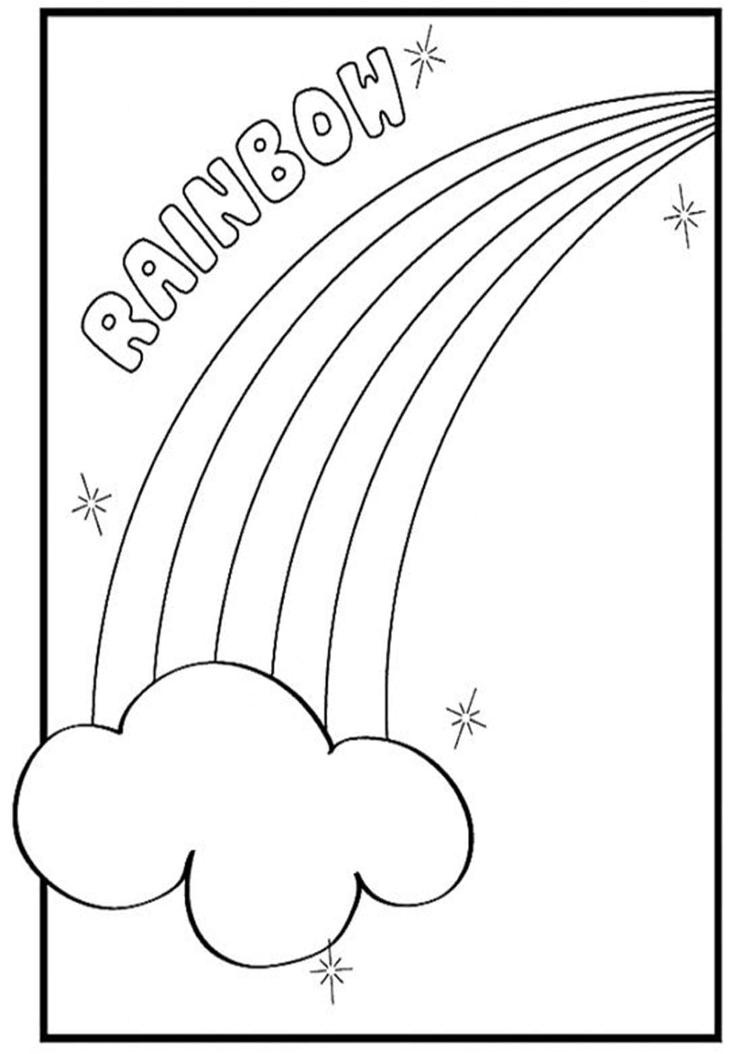 Free Easy To Print Rainbow Coloring Pages Rainbow Pages Printable Coloring Pages Coloring Pages For Kids