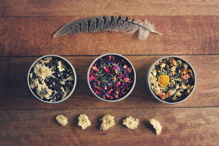 Danmala Teas via ROOTS  FEATHERS