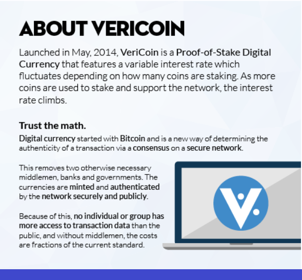 #Vericoin #cryptocurrency