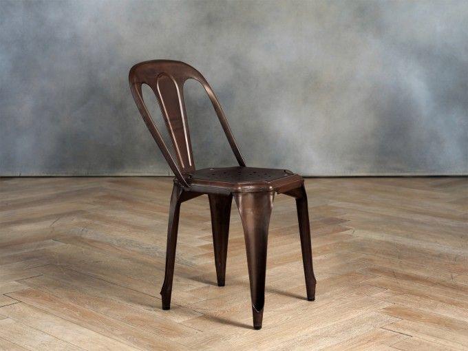 Cargo sedie ~ Old montpellier sedia rust e shop cargo restaurant tables