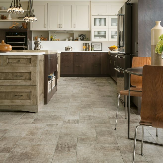 Distressed Concrete Engineered Tile Gray 8p115 Is Part