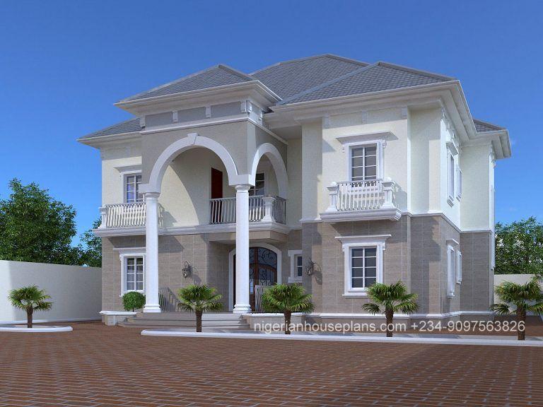 5 Bedroom Duplex Ref 5020 Duplex House Design Duplex House Duplex Design