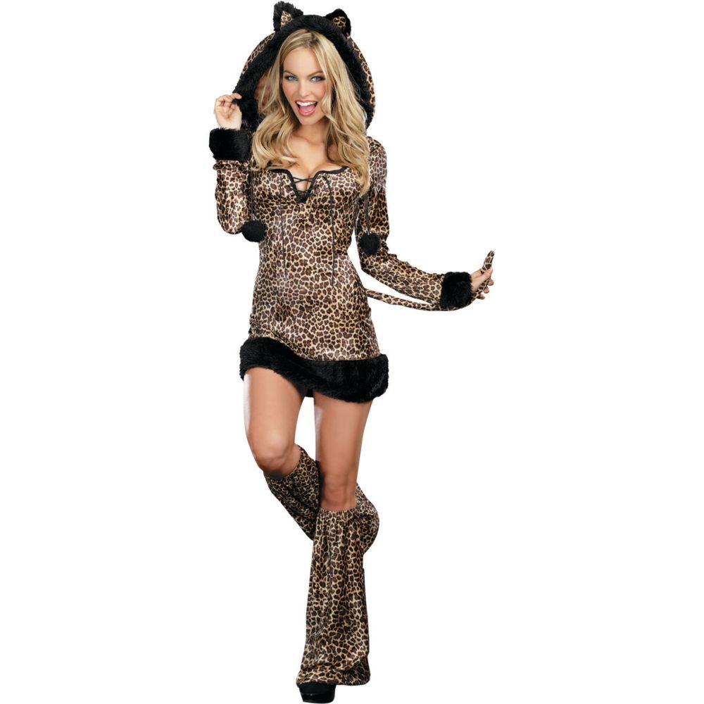 Cheetah Luscious Halloween Costume for Women