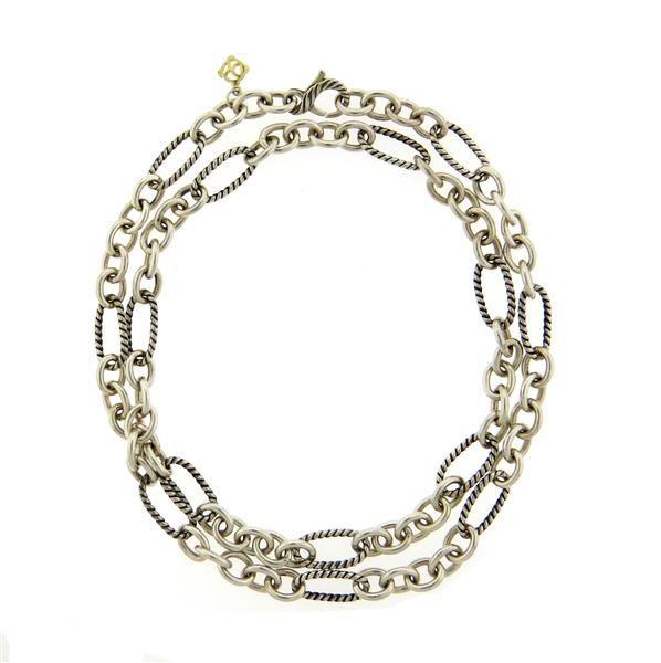 David Yurman Figaro Chain