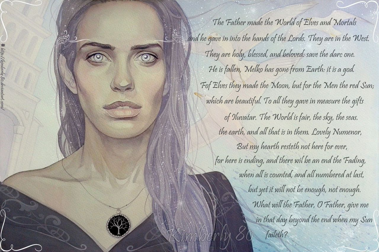 Firiel Is A Poem By J.R.R. Tolkien Which Was Published In
