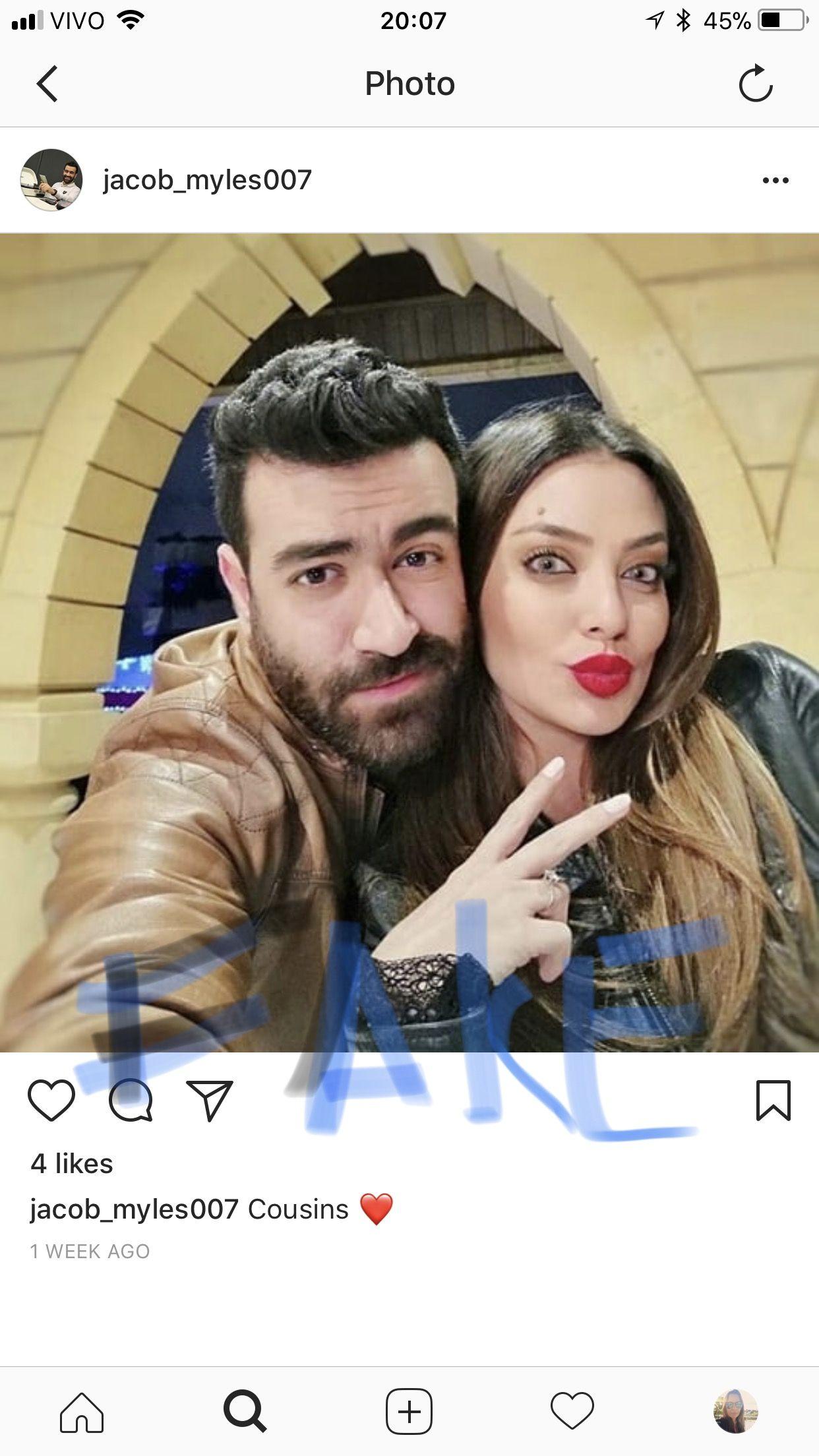 Fake Perfil On Instagram Jacob Myles With Stolen Photos Of Jerry Ghazal Actors Photo Movie Posters