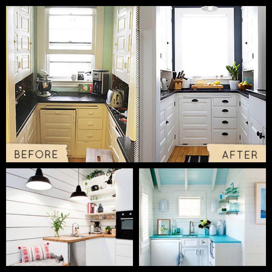10 trucos para reformar tu cocina sin obras manualidades - Cambiar encimera cocina sin obras ...
