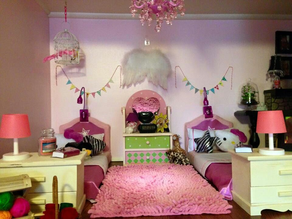 american girl dollhouse bedroom follow my dolls house