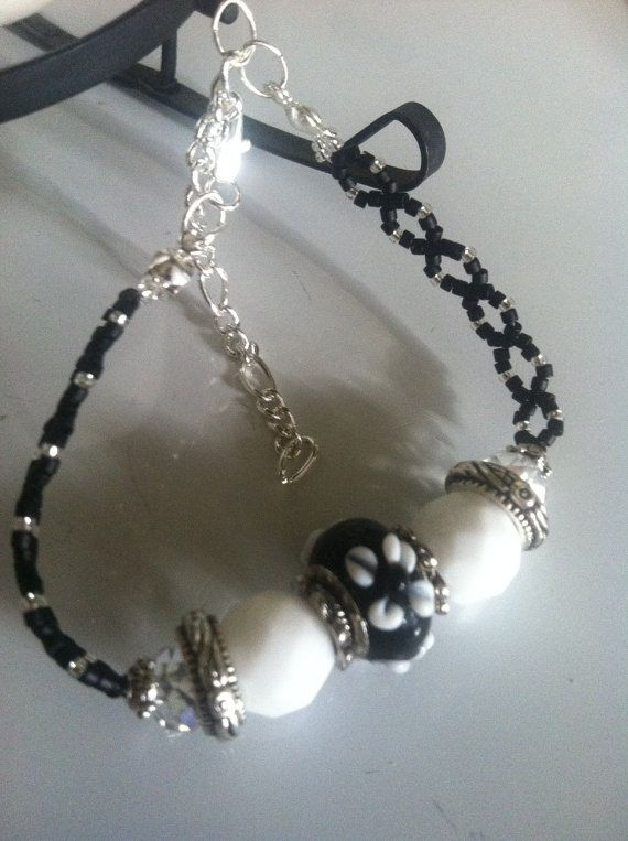 Handmade bracelet by Yvette, $18.50.  For additional information, please click on the link below.