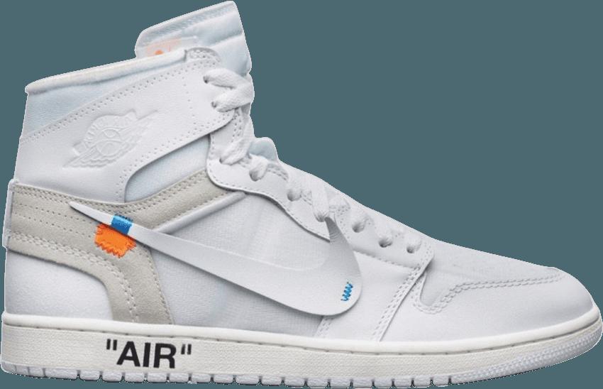 OFFWHITE x Air Jordan 1 Retro High OG BG 'White' 2018 in