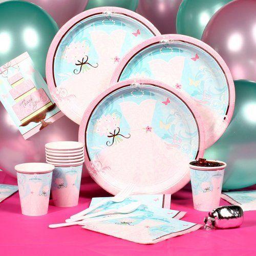 Something Blue Bridal Shower Party Decorations Starter Kit