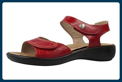 best service 26436 89ecc ROMIKA - Damen Sandalen - Ibiza 73 - Rot Schuhe in ...