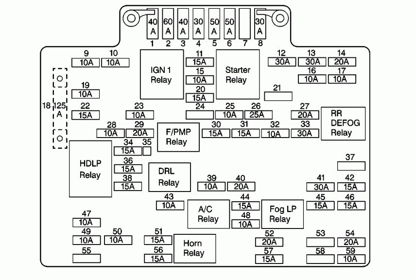2007 4runner Fuse Diagram