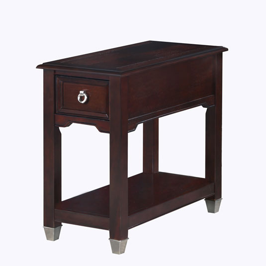 Darien Burnt Umber Chair Side Table End Tables