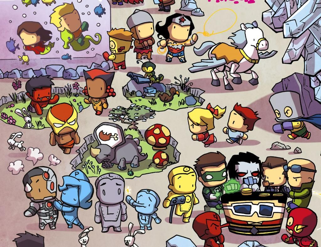 scans_daily | Scribblenauts Unmasked: A Crisis of