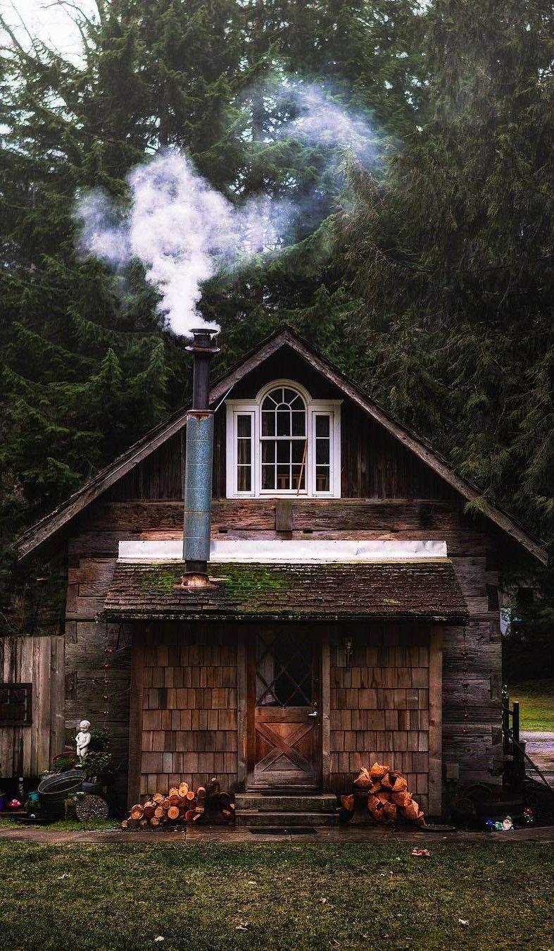 Revestimientode madera caba a en 2019 caba as r sticas for Decoraciones rusticas para el hogar