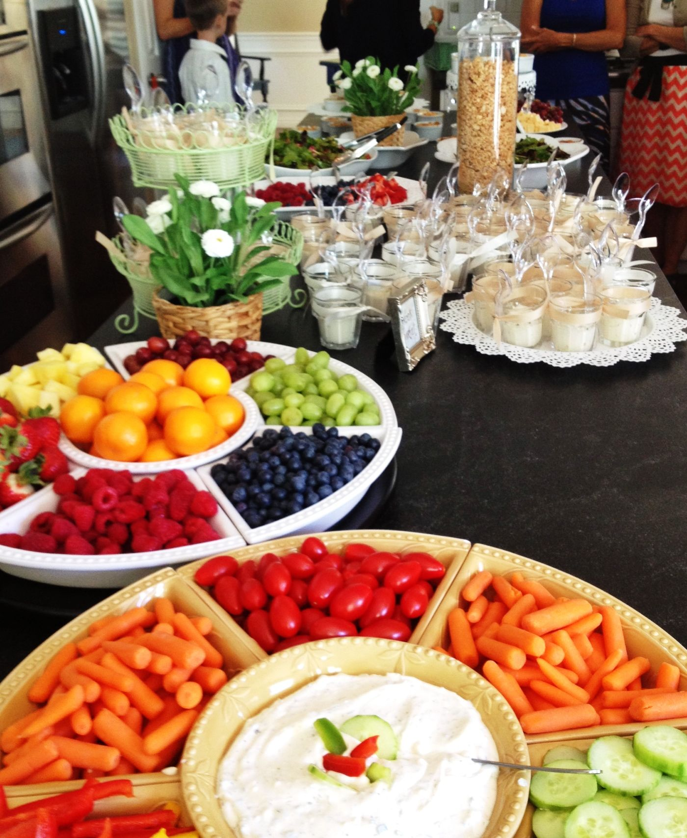 Gotta have fruits and veggies