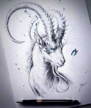 Bildergebnis Für Tattoo Zeichnen Lernen Tatoo Capricorn Art