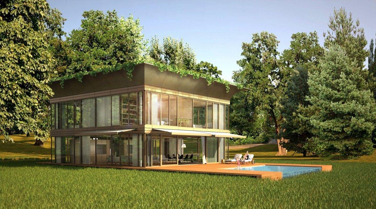 Maison passive ecologique modulaire 1200x666 philippe starck et lentreprise riko lancent la maison écologique en kit