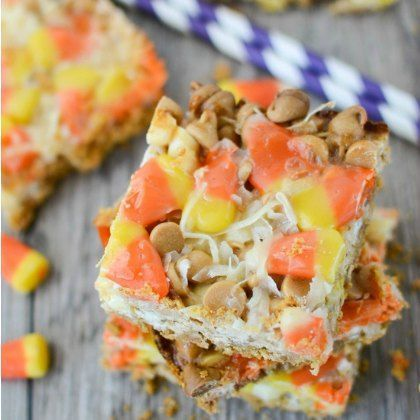 Happy Candy Corn Day! Even if you're not a fan of this classic Halloween treat, here are 17 fun recipes that might change your mind.