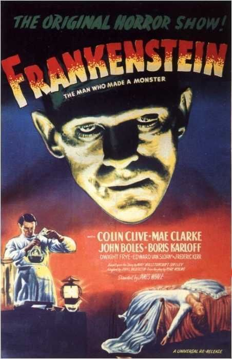 Frankenstein 1931 Classic Horror Movies Posters Movie Monsters Horror Movie Posters