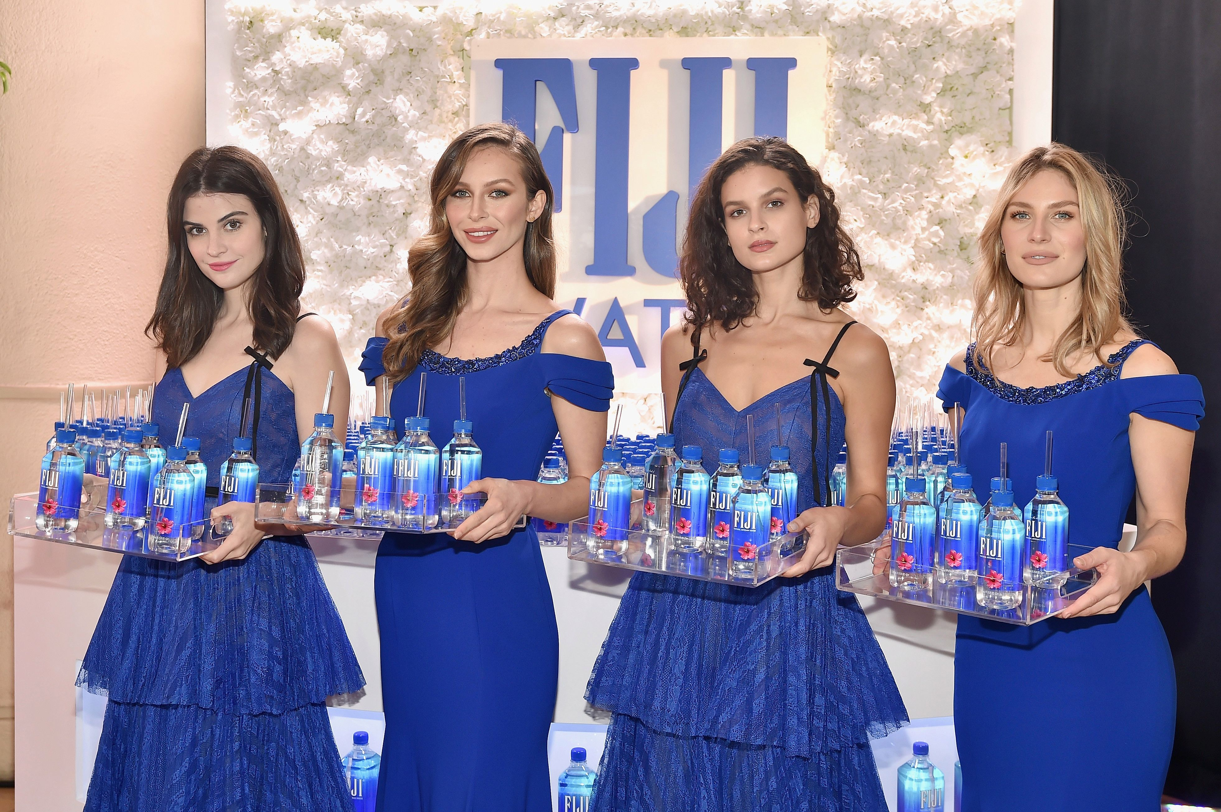 Fiji Water Model Snags Bold And The Beautiful Appearance