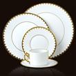 Lobjet | L'OBJET | Products | Fine Dinnerware Online | 1 | AEGEAN FILET | GOLD | DINNER PLATE