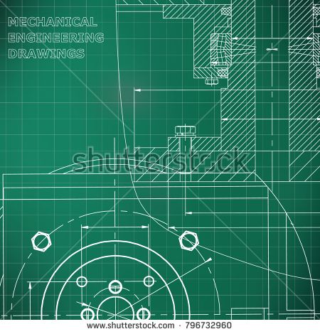 Mechanics technical design engineering style mechanical mechanics technical design engineering style mechanical instrument making corporate identity light green background grid bubushonok art malvernweather Images