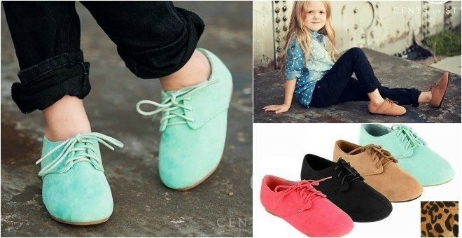 Little Girl Oxford Shoes in 5 Colors