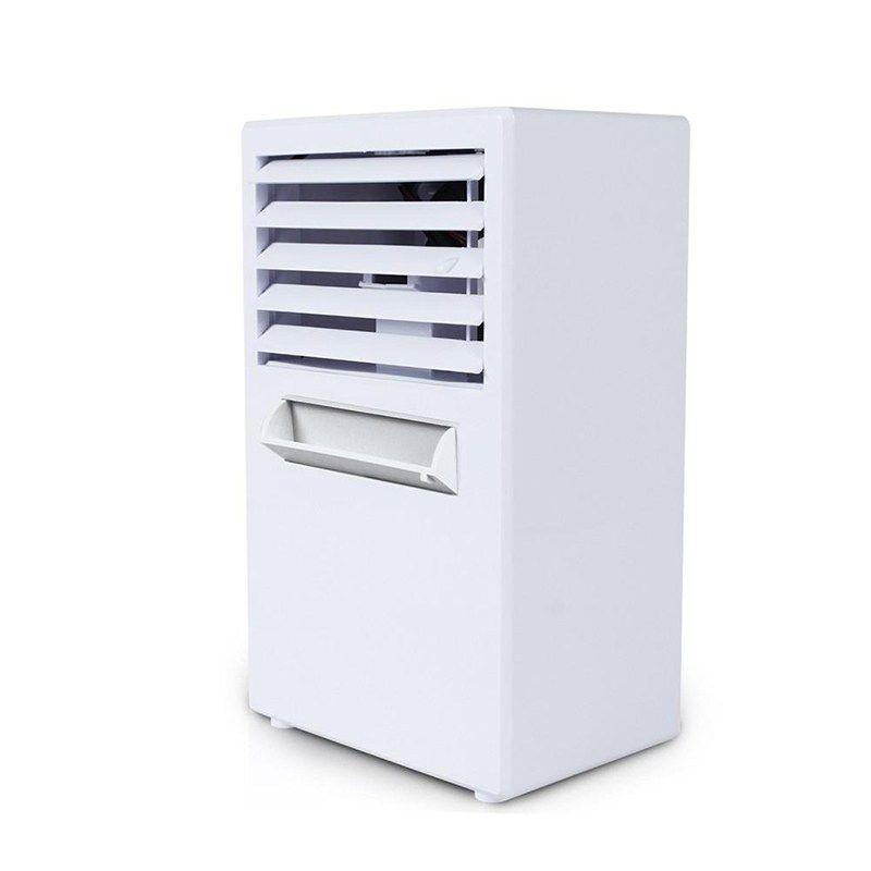 Sanq Portable Summer Mini Personal Air Conditioner Fan Air Conditioner Evaporative Air Cooler Misting Desktop Table Desk Cooli Desktop Air Conditioner Portable Air Conditioner Air Cooler