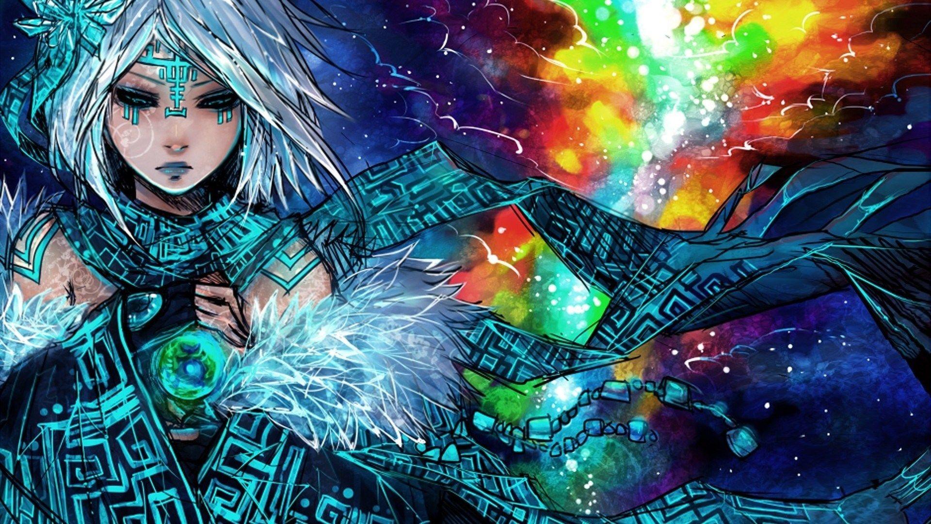 Tribal Mage Hd Anime Wallpaper Anime Wallpaper Hd Anime Wallpapers Anime