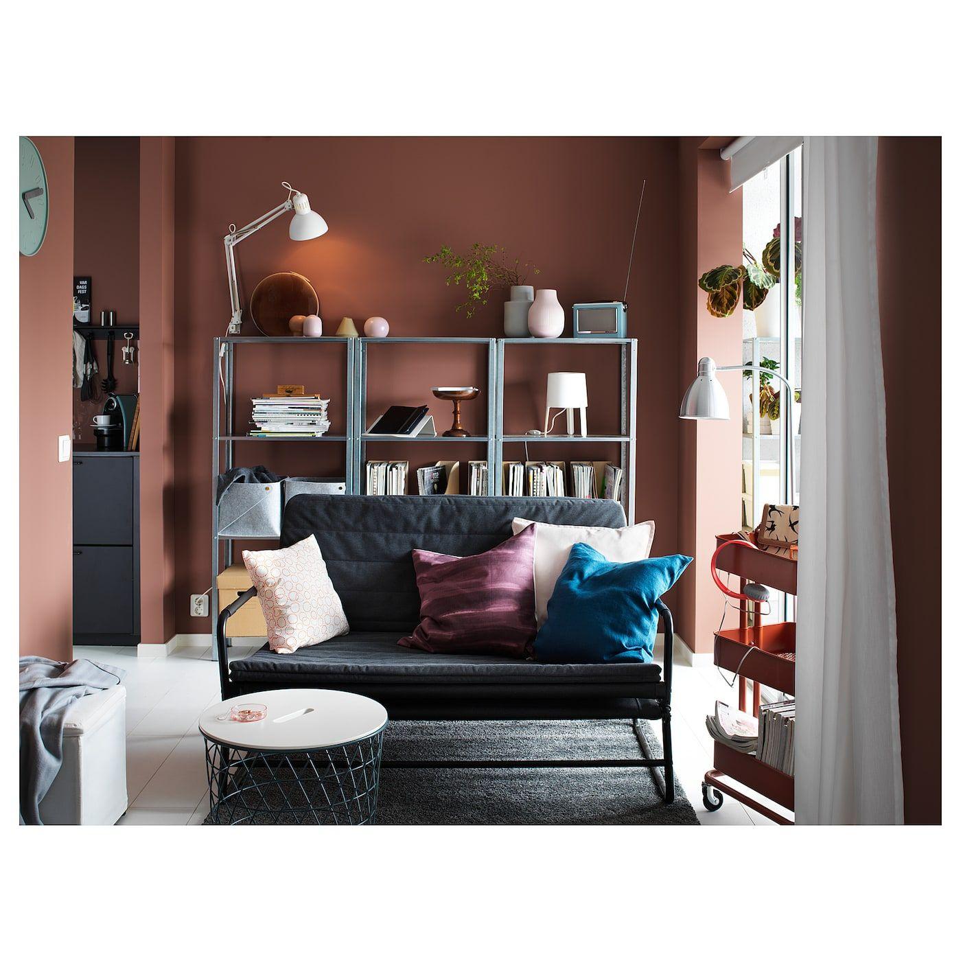 HYLLIS Shelf unit, indoor/outdoor galvanized - IKEA