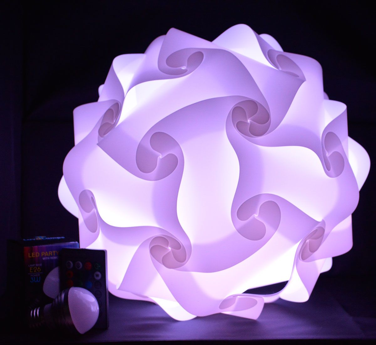 Luvalamps 3d Puzzle Lights Puzzle Lights Infinity Lights Crafts
