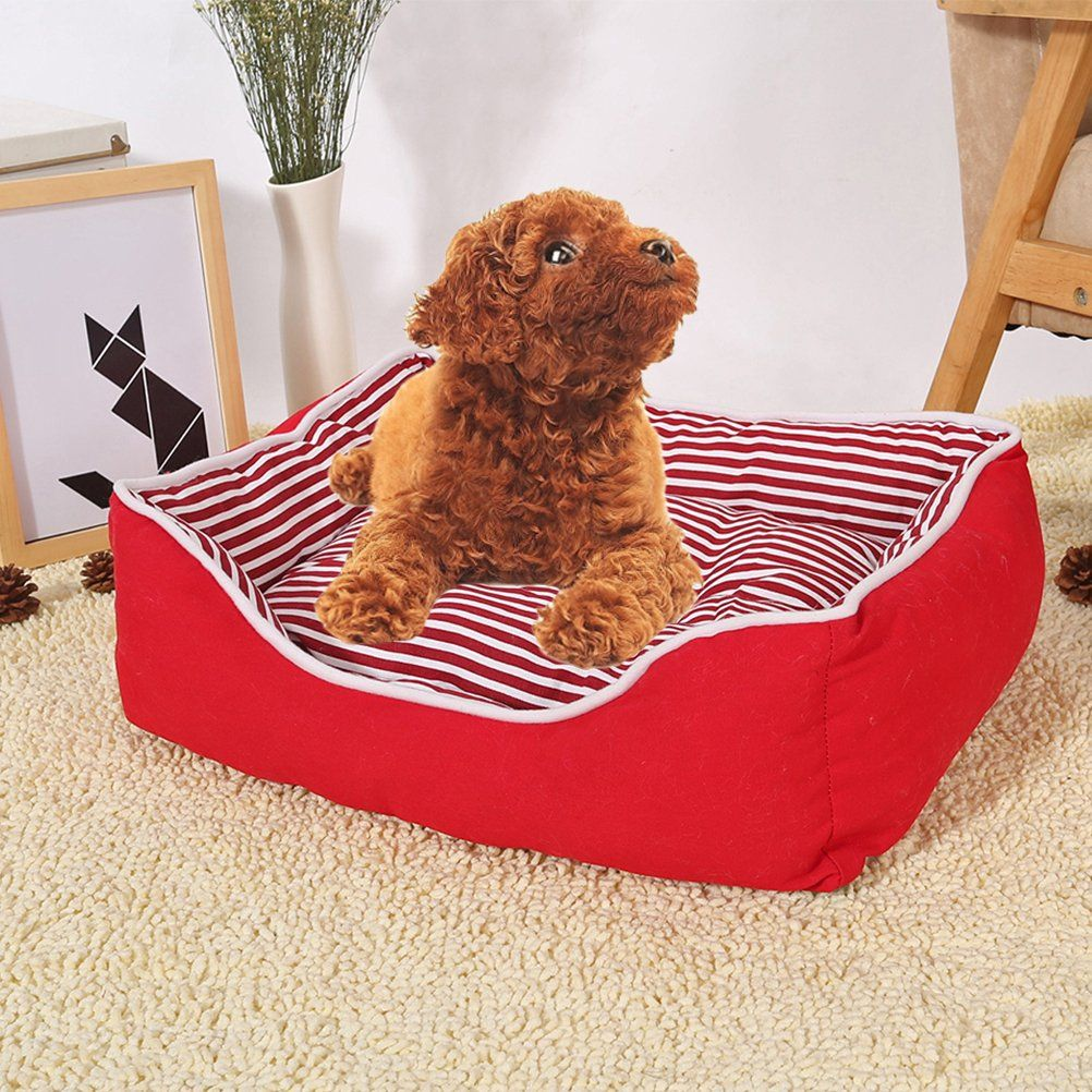 Tongli Pet Bed Cat Dog House Soft Warm Kennel Cat Nesting Pets Home Want To Recognize More Click The Image This Is An Affil Pet Beds Cat Dog Bed Dog House