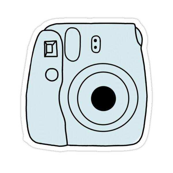 Hd wallpapers and background images Blue Polaroid Camera Sticker by lexigrace25 in 2021   Pink