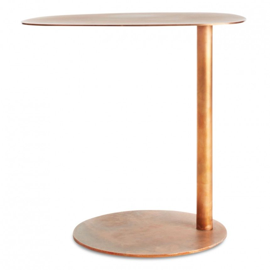 Superbe Swole Small Side Table   C Shaped Side Table | Blu Dot