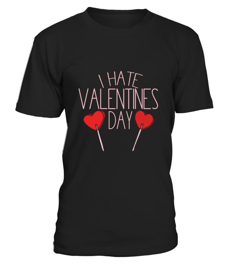 i hate valentine s day shirt funny anti valentines day tee - Anti Valentines Day Shirts