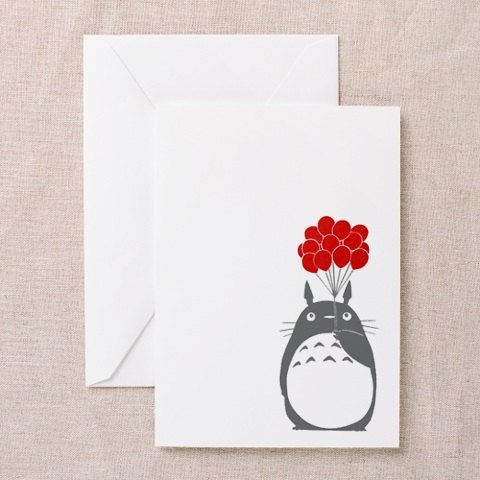 Studio Ghibli My Neighbor Totoro Greeting Card Envelope – Totoro Birthday Card