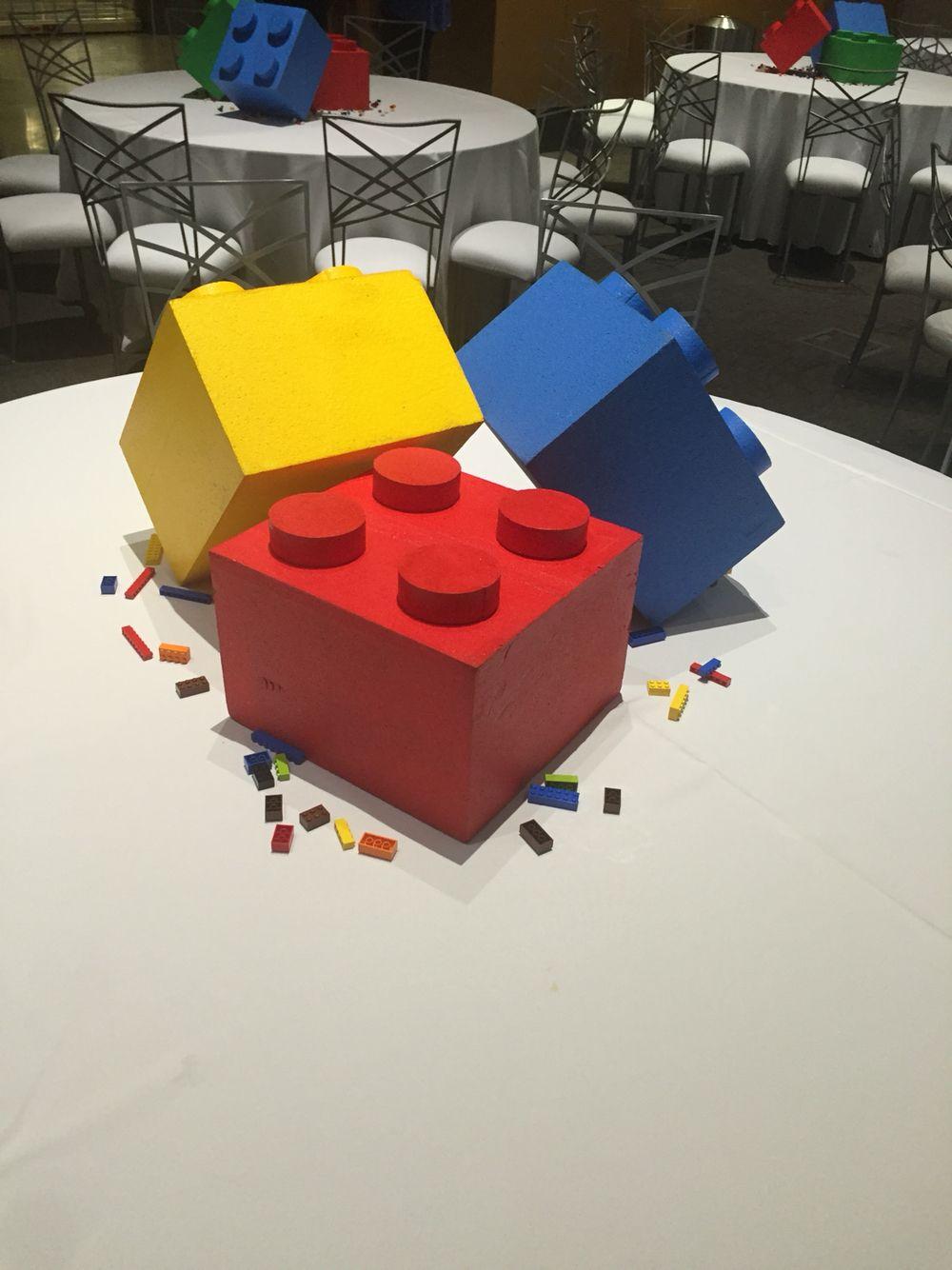 lego event centerpieces event planning ideas pinterest. Black Bedroom Furniture Sets. Home Design Ideas