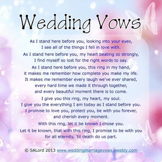Wedding vows that make you cry best photos page 3 of 4 wedding vows that make you cry best photos page 3 of 4 cute wedding ideas junglespirit Images
