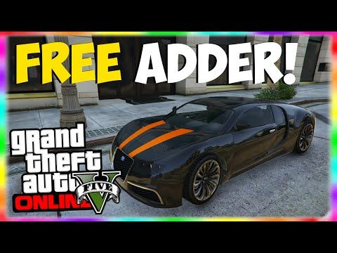 Gta 5 Rare Cars Free Adder Adder Spawn Location Gta 5 Online
