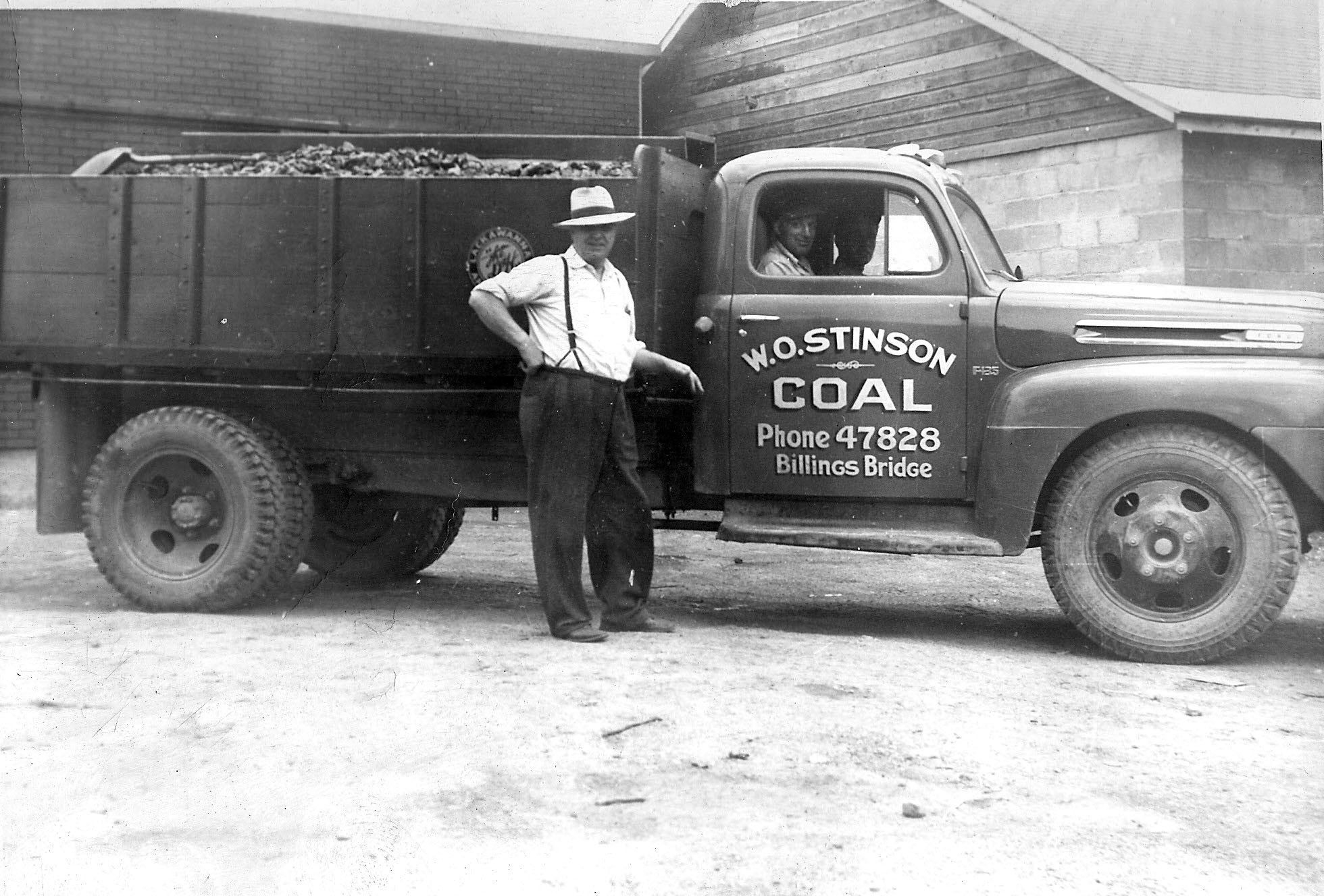 1937 In The Days When People Used Coal To Heat Up The Houses Ford Tractors