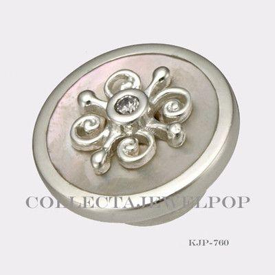 Authentic Kameleon Sterling Silver Chantilly Lace MOP Jewelpop KJP760
