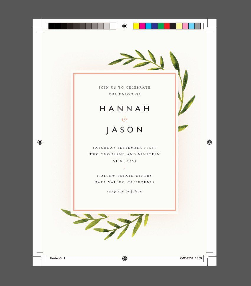 Indesign Wedding Invitation Template Luxury How to Create A