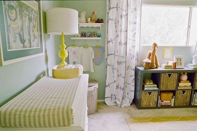 Where The Wild Things Are inspired nirsery.12 Nurseries Inspired by Classic Kids Books   Brit+Co