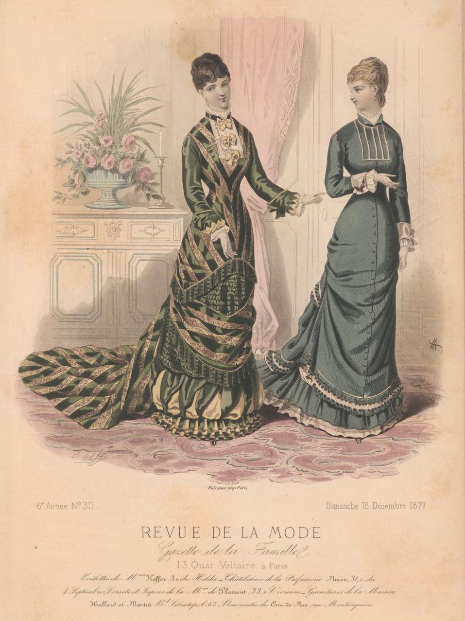 revue de la mode 1877 1877s fashion plates pinterest fashion plates 1870s fashion and. Black Bedroom Furniture Sets. Home Design Ideas