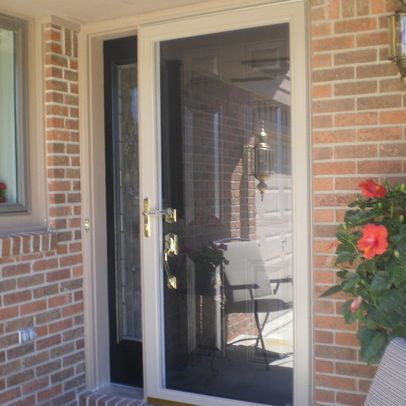 White Storm Door Design Ideas, Pictures, Remodel, and ...