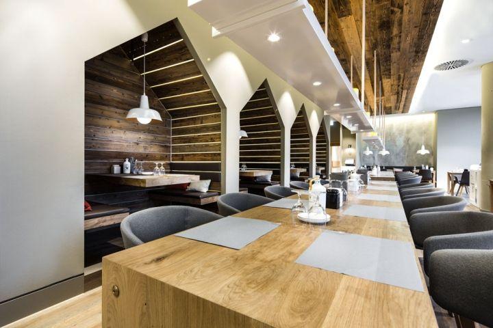 Sansibar by Breuninger restaurant by DITTEL ARCHITEKTEN