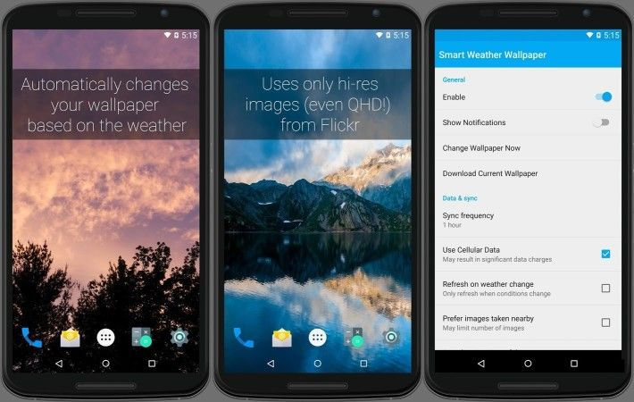 Smart Weather Wallpaper Automatically Sets Wallpaper Based On Weather Goandroid Weather Wallpaper Wallpaper Wallpaper App